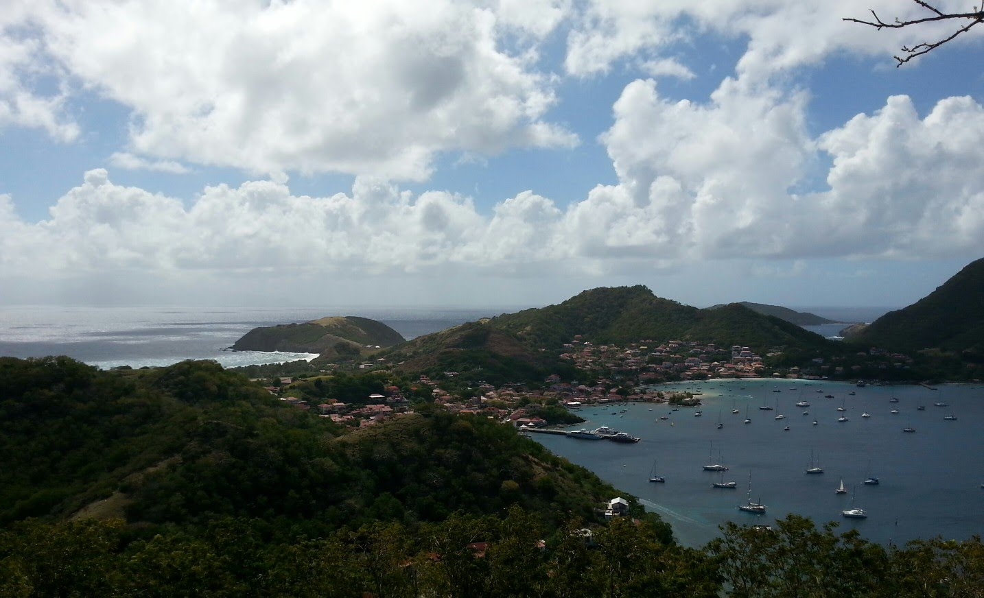 Explore The Beauty Of Caribbean: Sailing In The Caribbean. Guadeloupe, Les Saintes 2016